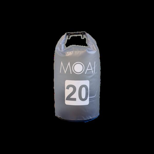 MOAI 20 LITERES VÍZHATLAN ZSÁK szűrke