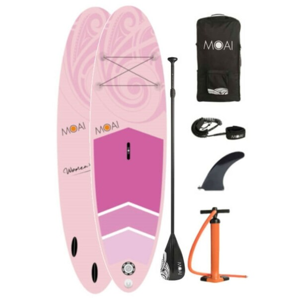 Moai 10'6 Pink women edition