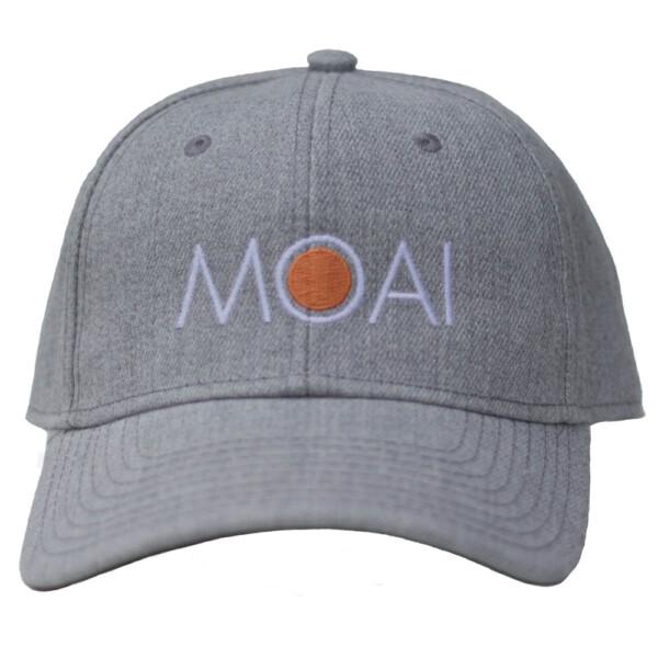 Moai szűrke baseball sapka