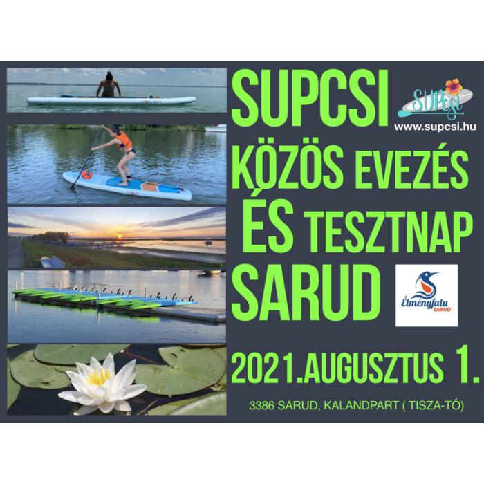 SUP deszka bérlés Augusztus 1. csoportos evezéshez 10.00-13.00